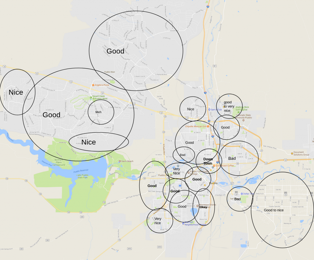 Pueblo Colorado Real Estate Investing Map